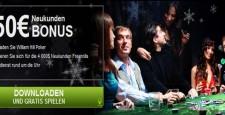 William Hill Poker ist Teil von William Hill. Dies ist der führende Sportwetten-Anbieter in England, der im Zuge des Internet Booms auch in die Bereiche Poker und Casino-Spiele vorgestossen ist. […]
